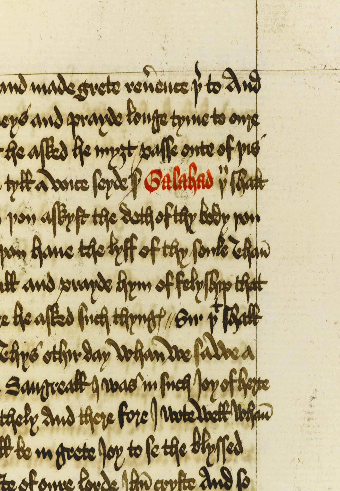 Offset of letter 'y' of Caxton's type 2, fol. 407r/04